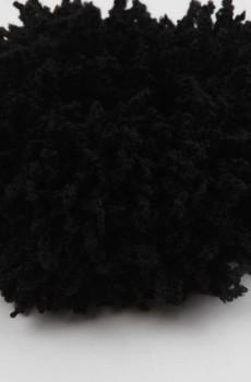 Puf Topuz Tokası Siyah