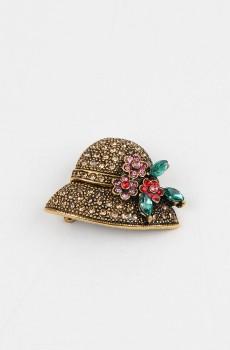 Şapka Figürlü Broş İğne