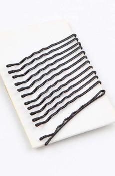 Uzun Siyah Tel Toka 5 cm 12 Adetli