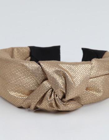 Gold Düğümlü Parlak Taç