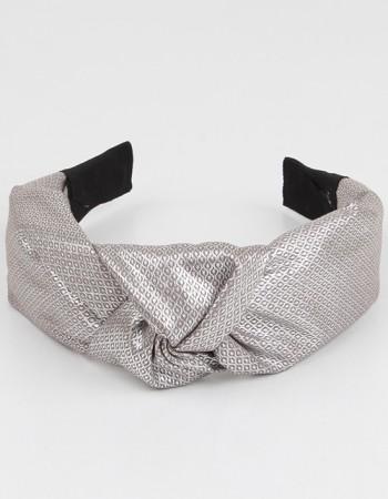 Gümüş Düğümlü Parlak Taç